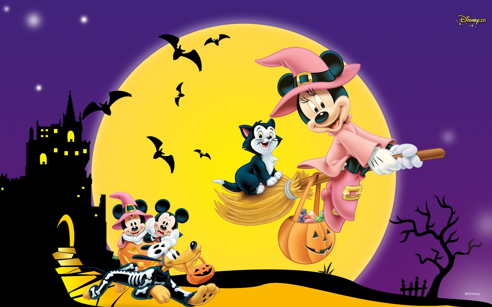 Sites Of Great Wallpapers images Disney Halloween HD 1680x1050