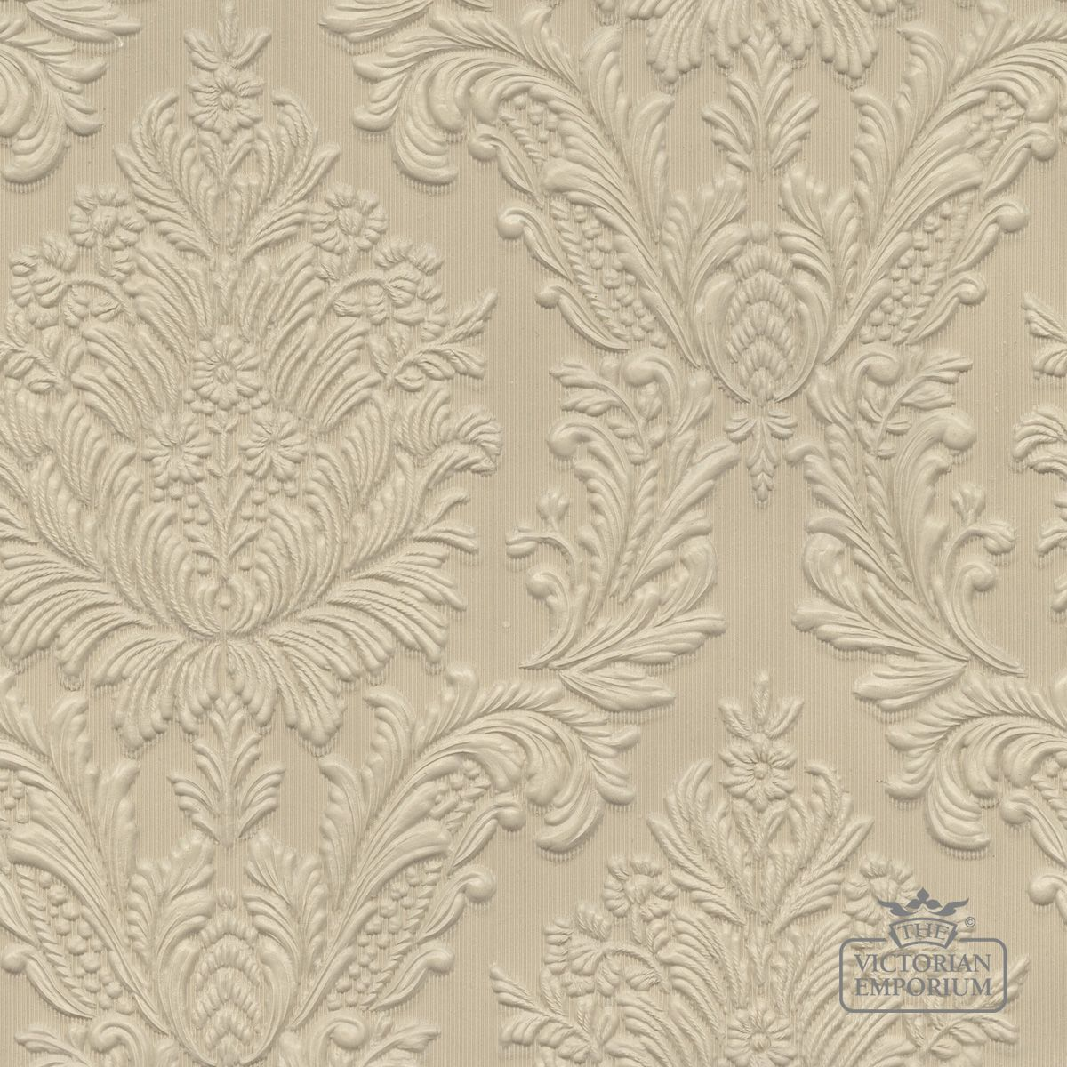 Free Download Embossed Lincrusta Paintable Wall Covering Wallpaper