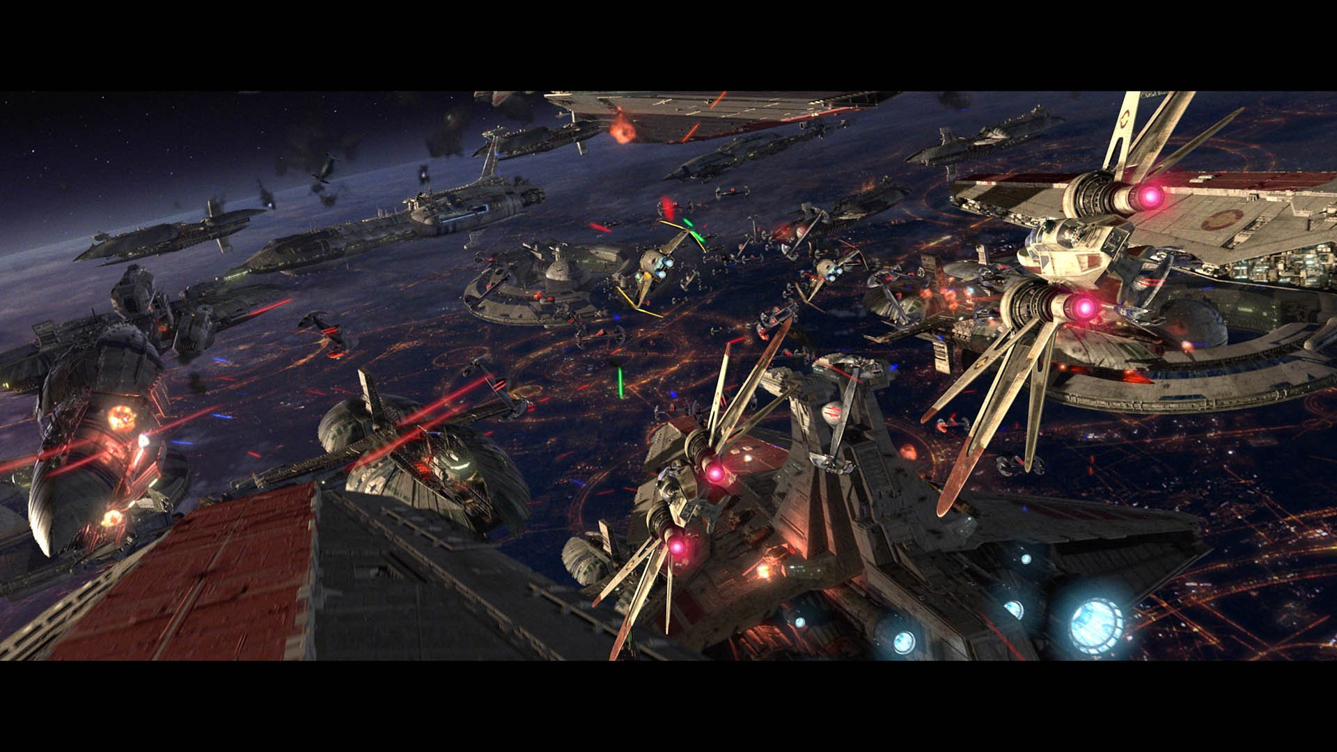 Download Star Wars Sith Battle wallpaper in Movies wallpapers with 1920x1080