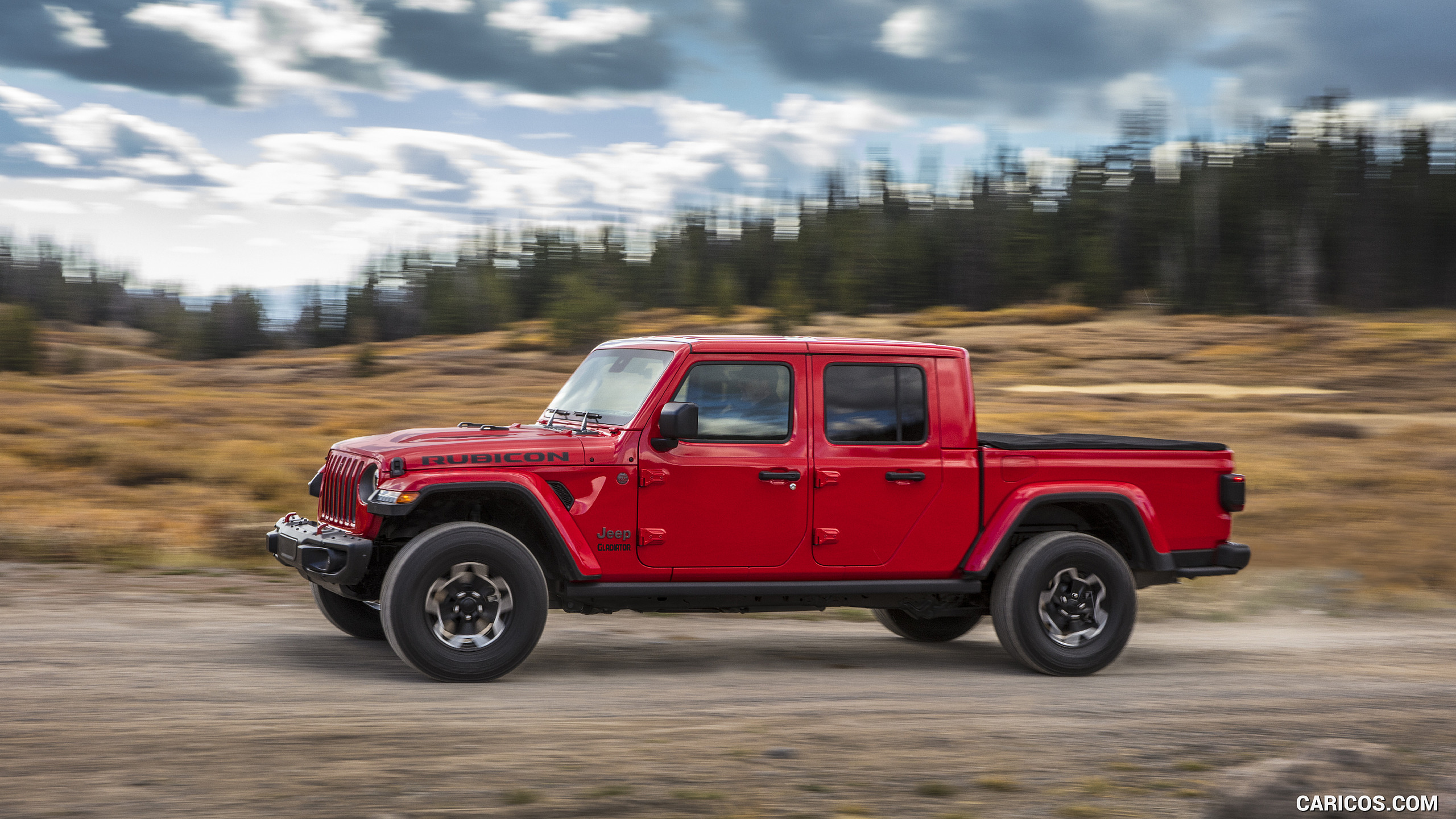 2020 Jeep Gladiator Rubicon   Side HD Wallpaper 115 2560x1440