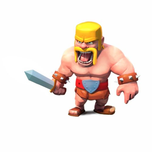 Barbarian   Clash of Clans Wiki 500x500