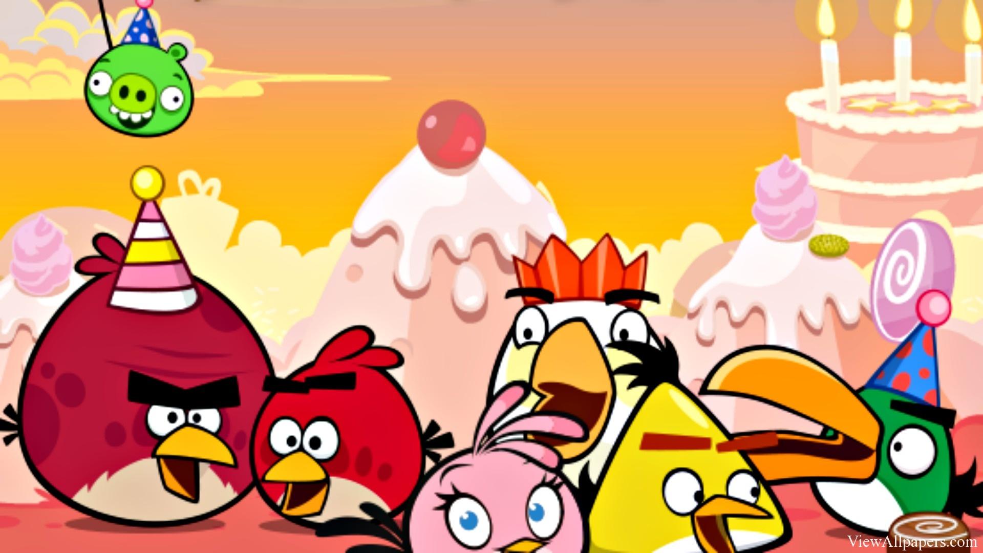Angry Birds Wallpaper Free Download Wallpapersafari