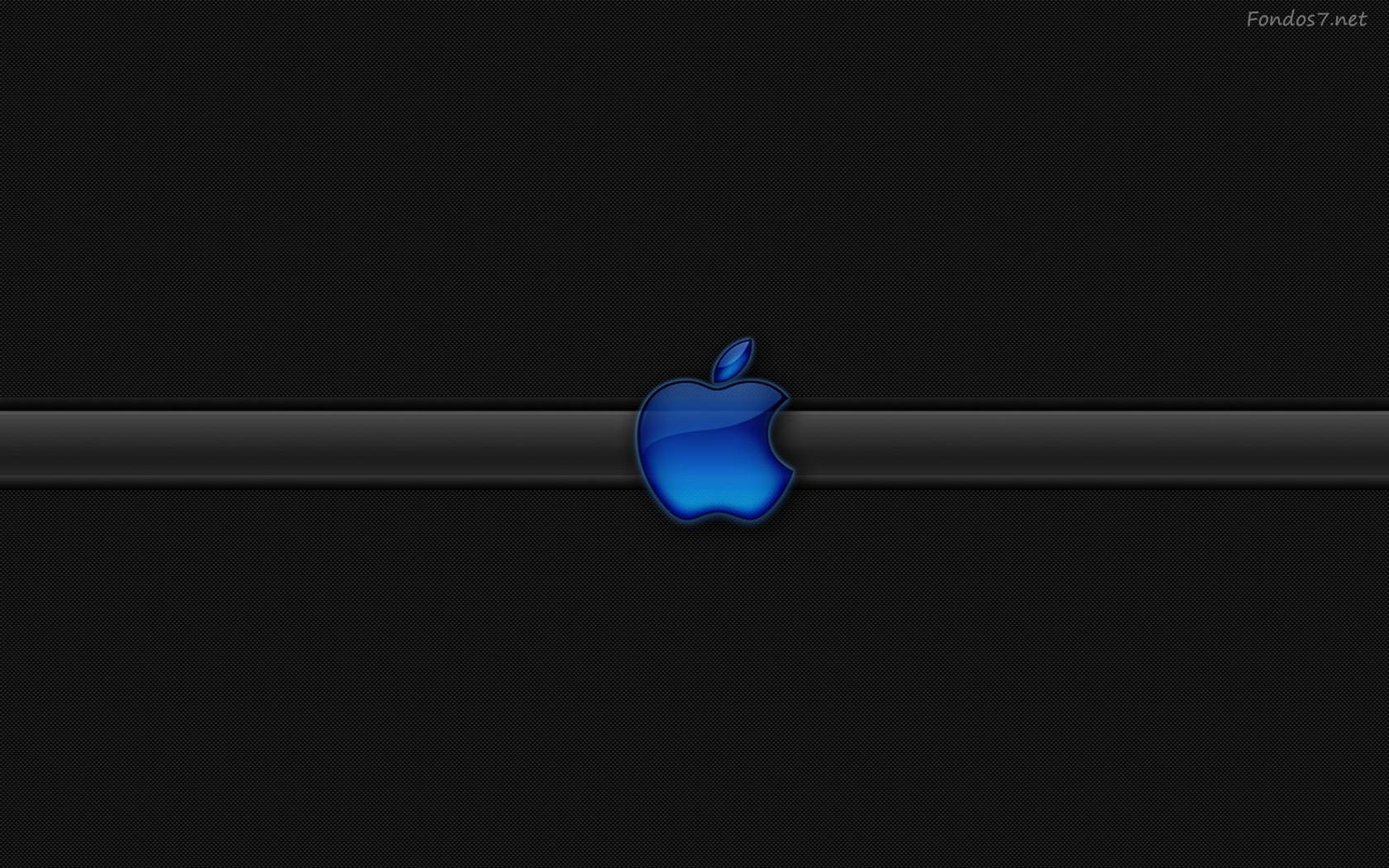 Descargar Fondos de pantalla logo apple azul hd widescreen Gratis 1680x1050
