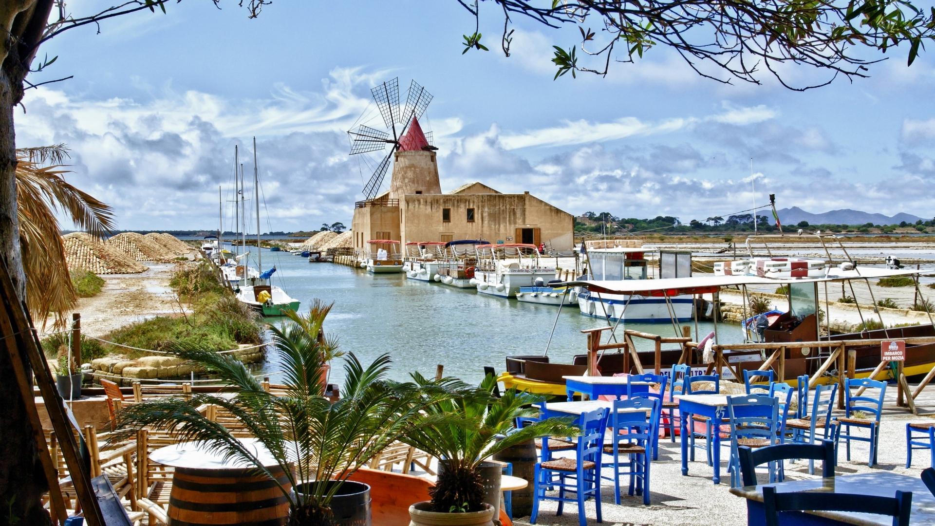 Sicily desktop wallpaper wallpapersafari - Italy screensaver ...