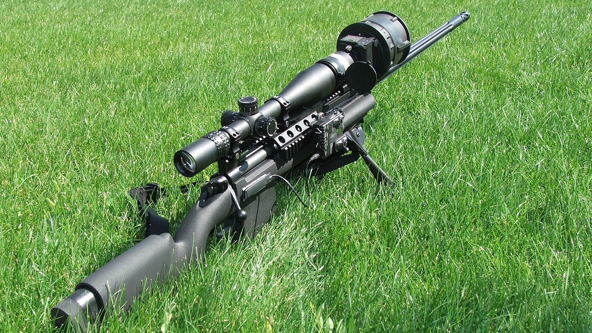 Sniper Rifle Wallpaper Hd 222393 1920x1080