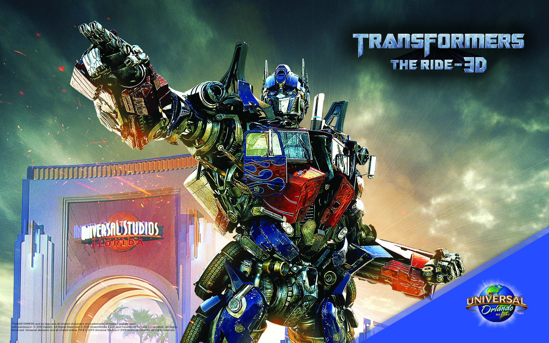TRANSFORMERS The Ride 3D at Universal Orlando 1920x1200