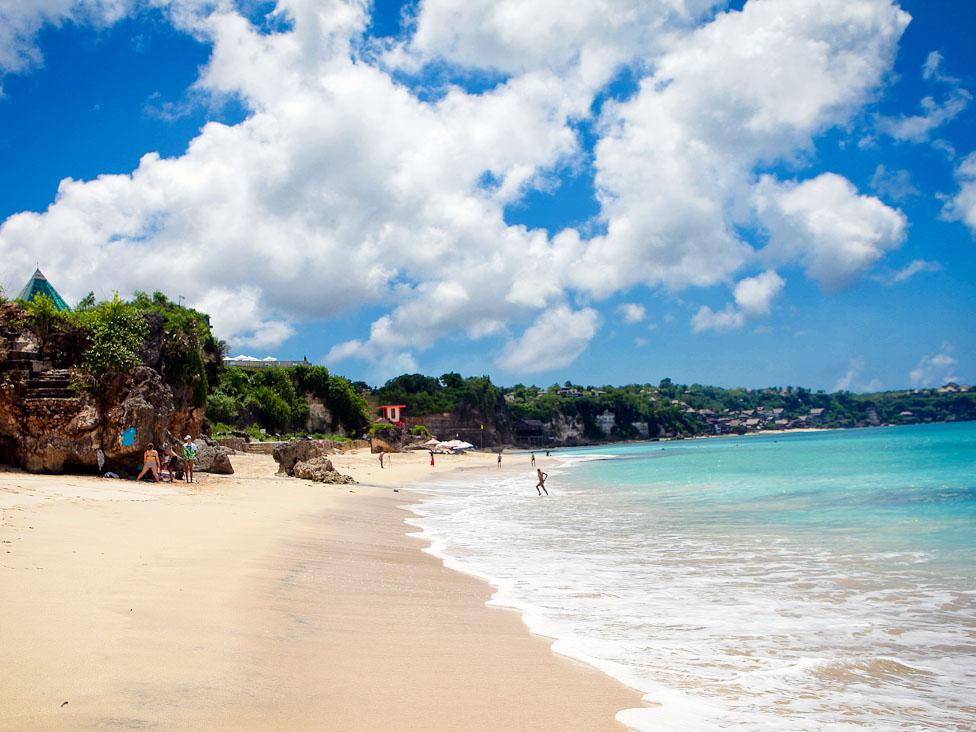 Free Download Dreamland Wallpaper Bali Beach 16652 Wallpaper