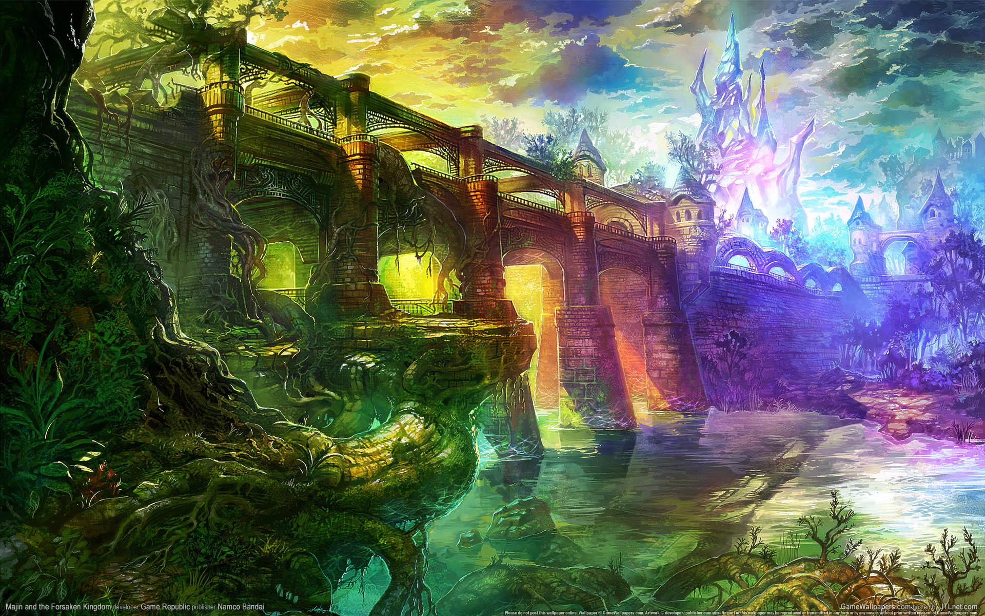 Majin And The Forsaken Kingdom wallpaper   237854 1920x1200