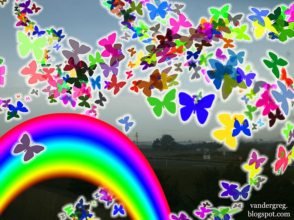 Butterfly Wallpaper Rainbow Butterfly Wallpaper Hd: Butterfly Wallpaper For My Desktop