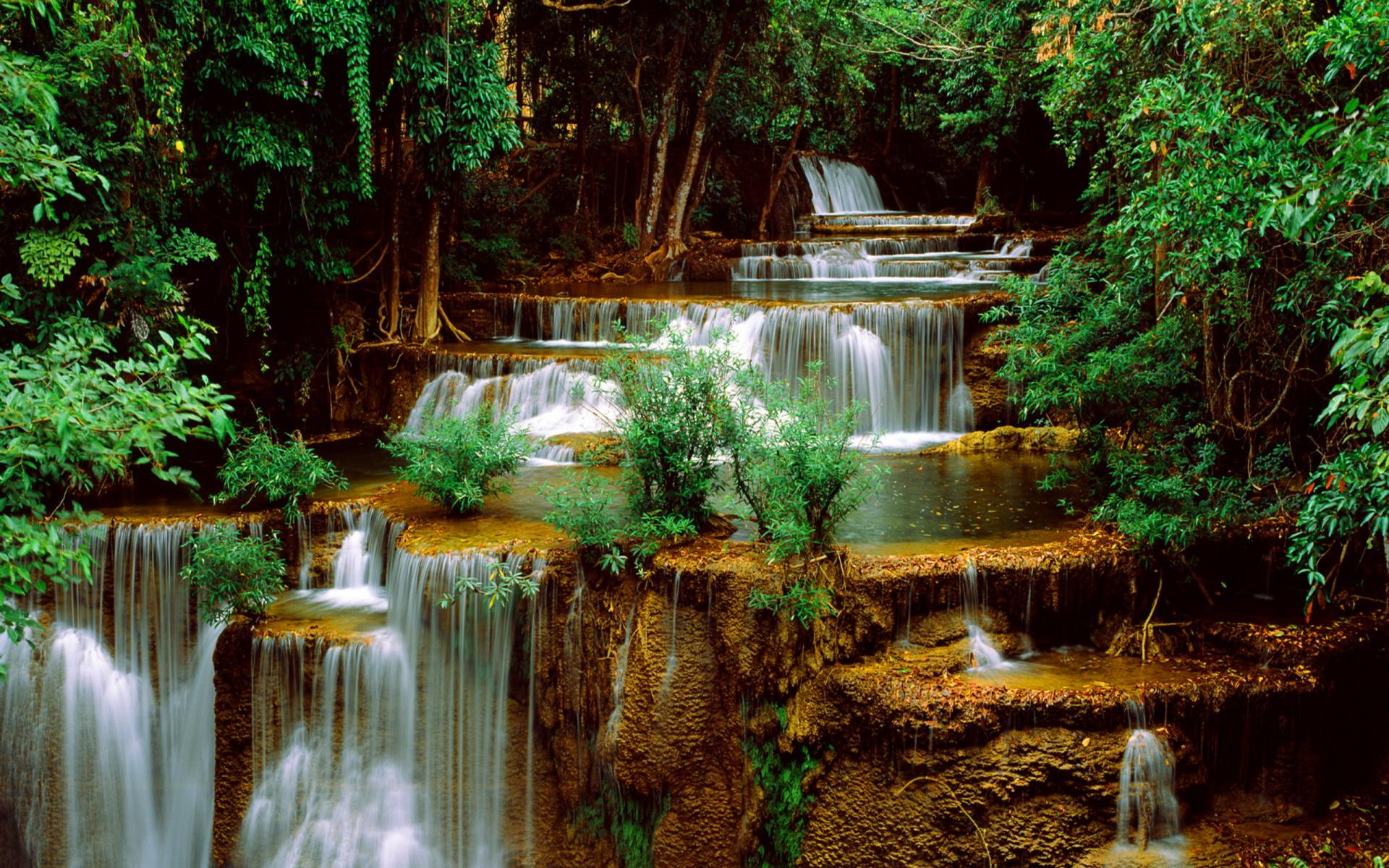 download live wallpaper of waterfall which is under the waterfall 1920x1200