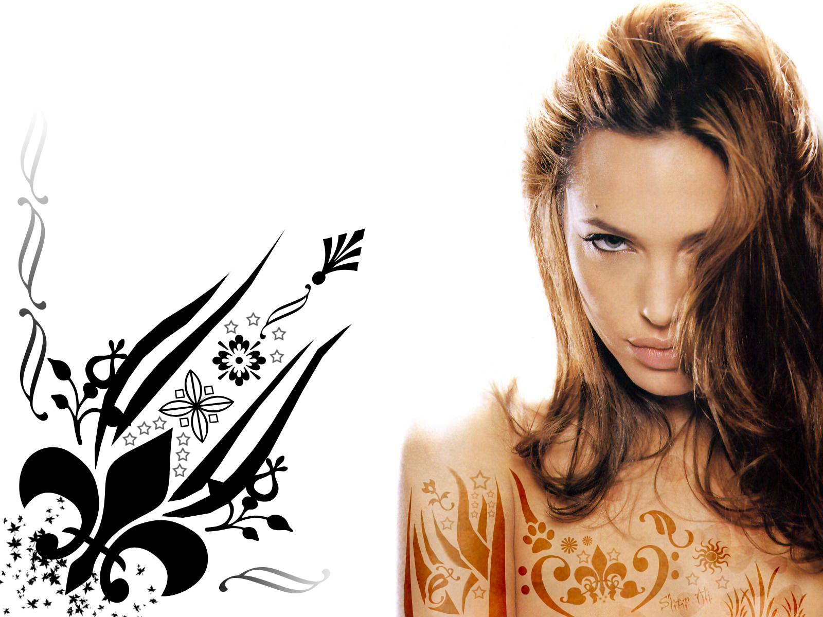 Angelina Jolie Wallpaper WALL PC 1600x1200