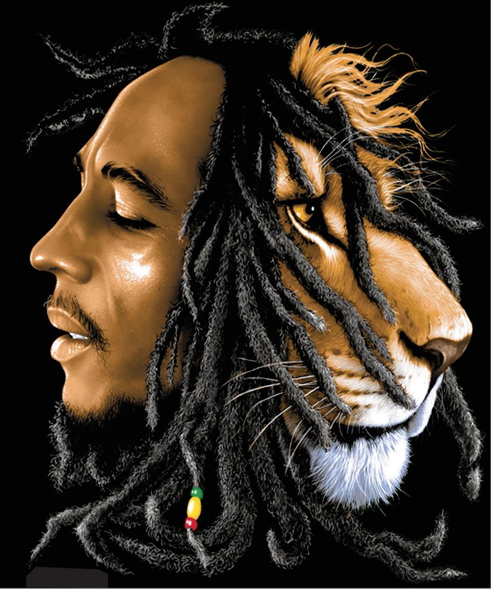 rastafarian lion bob marley wwwpixsharkcom images