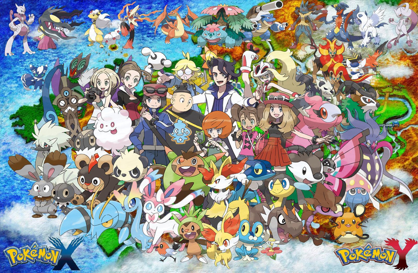 Pokmon X [3DS] Part 1 A New Adventure Begins 12Dimension 1600x1048