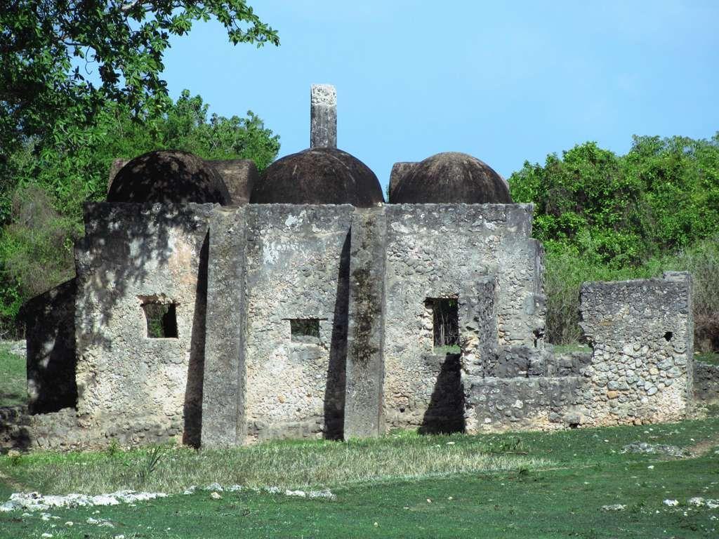 The Small Domed Mosque on Kilwa Kisiwani Island Tanzania dates 1024x768