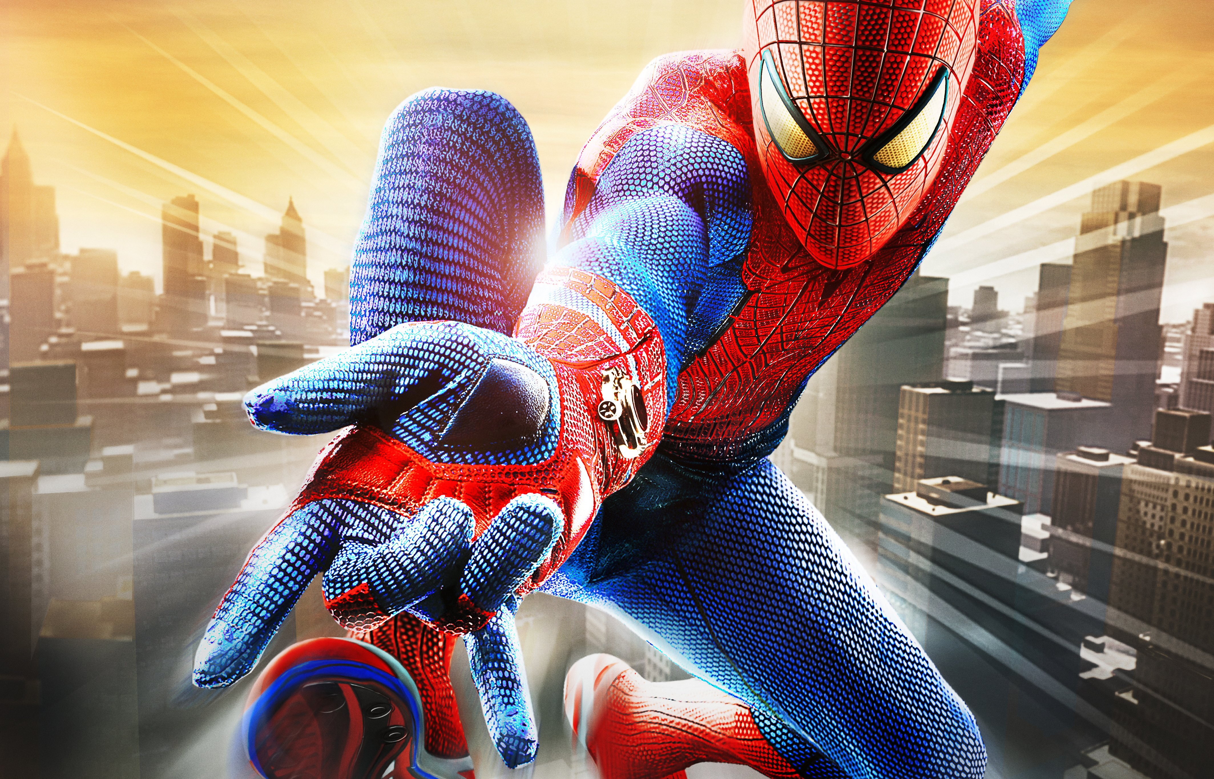 4K wallpaper   Games   marvel the city The Amazing Spider man 4254x2730