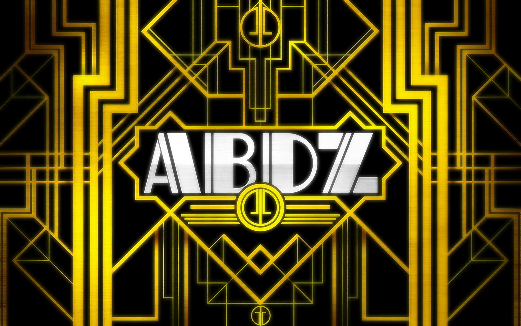 Wallpaper of the Week   Art Deco Abduzeedo Design Inspiration 1680x1050