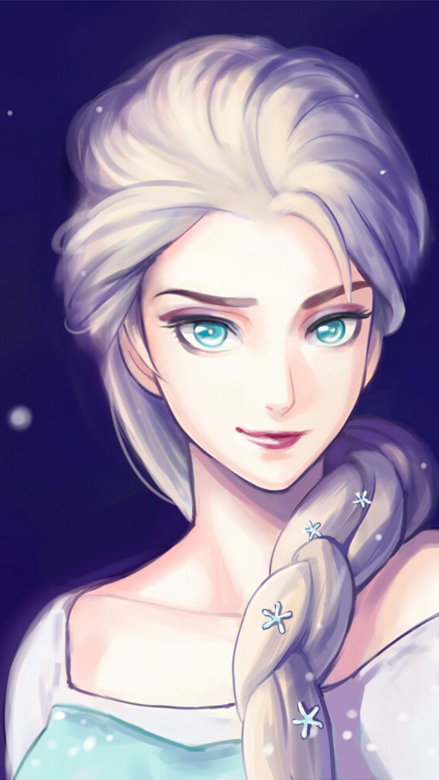 Disney Frozen Anna Iphone Wallpaper Frozen Elsa And Anna Wallpaper 640x1136