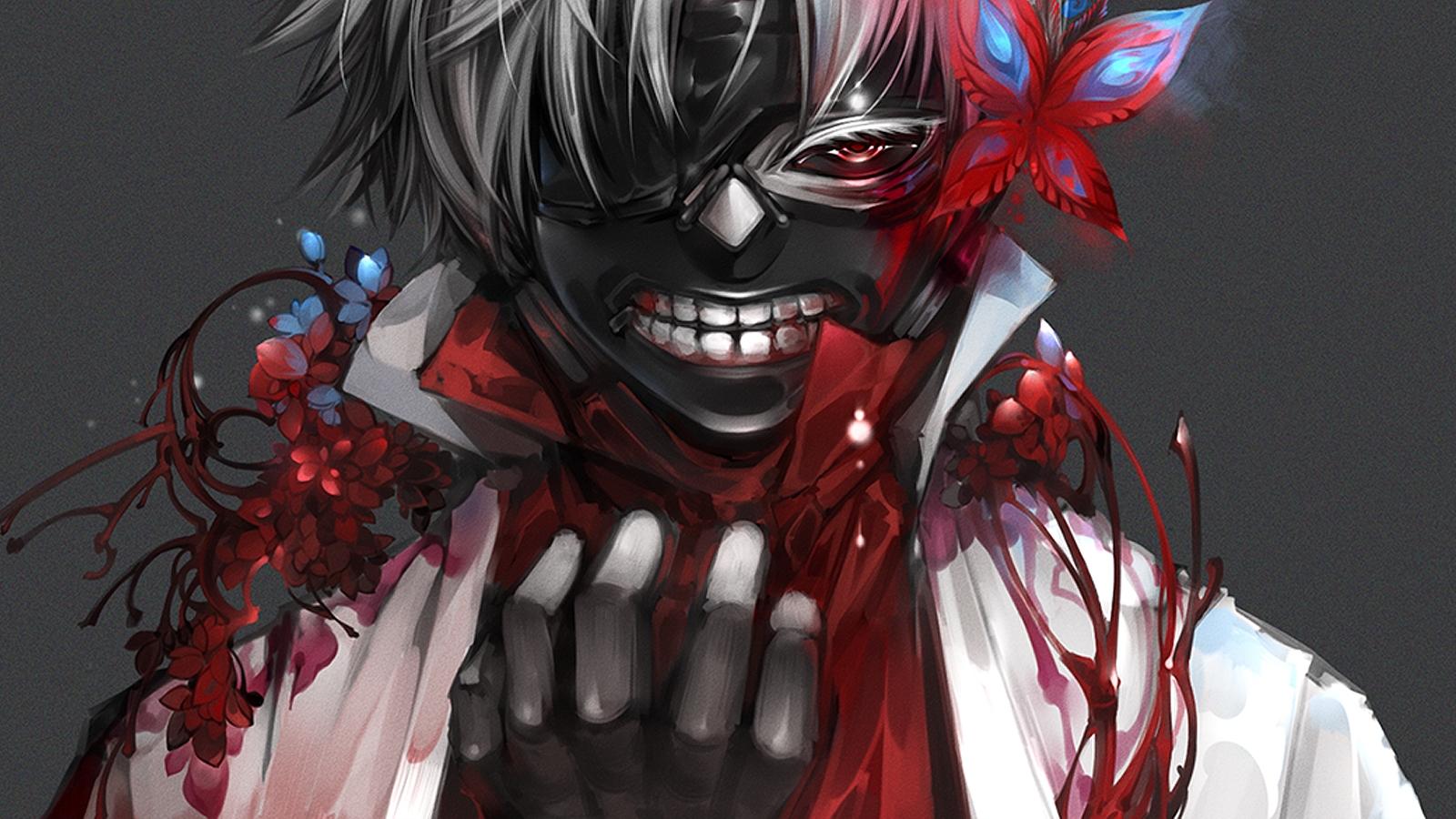 Tokyo Ghoul Wallpaper 1600x900 - WallpaperSafari