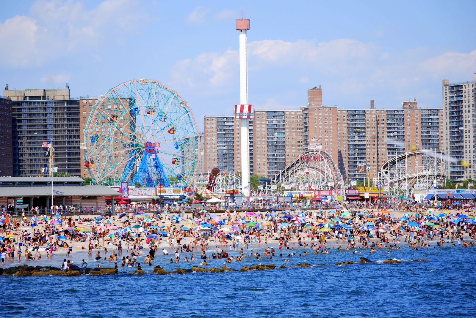 Coney Island Wallpaper 1600x1071