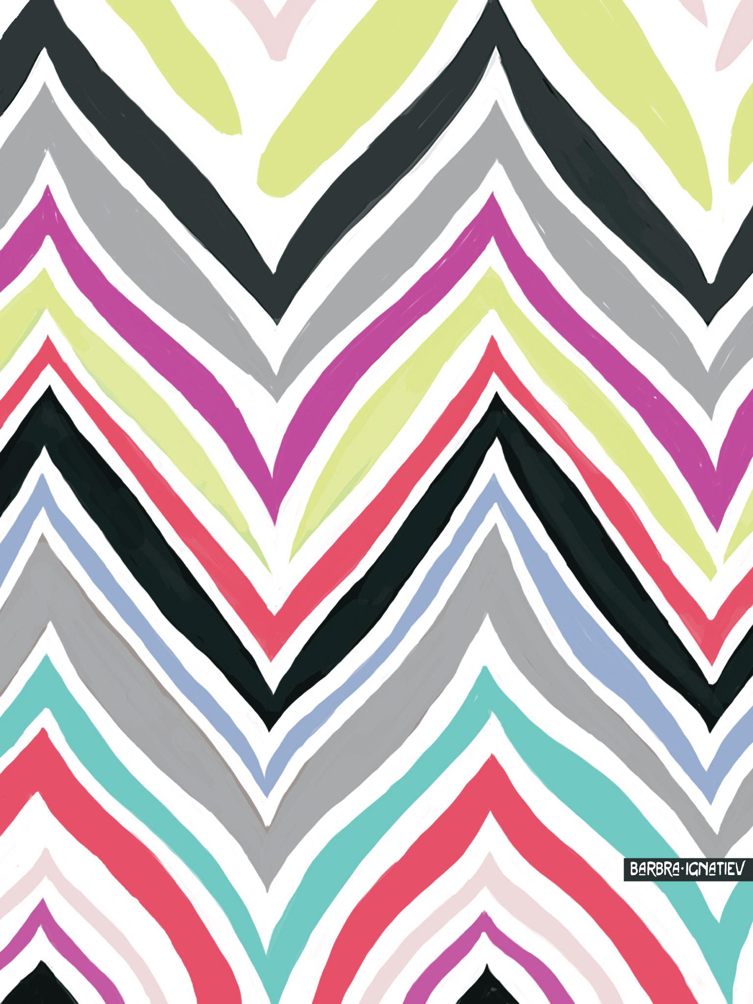Glitter Chevron Wallpaper - WallpaperSafari