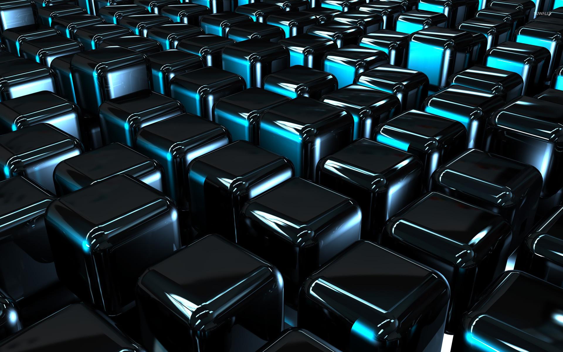 Shiny cubes wallpaper   3D wallpapers   20457 1280x800