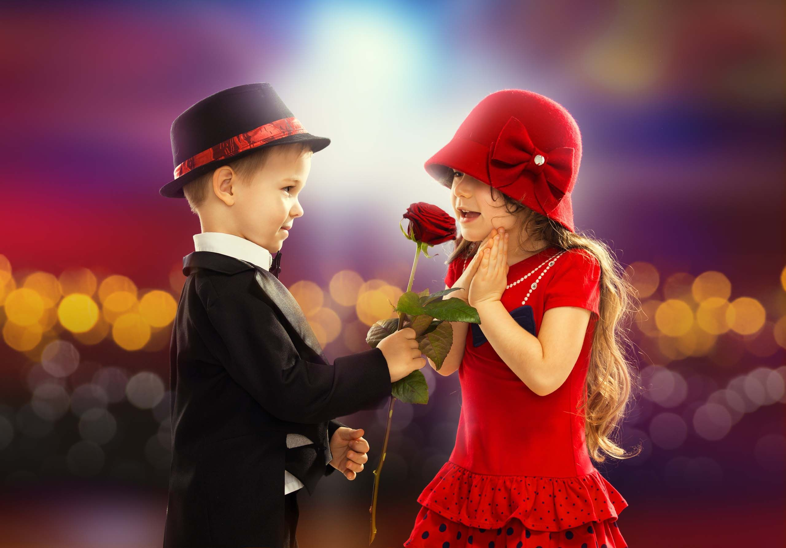 Handsome boy proposing charming girl HD Wallpapers Rocks Love 2560x1787