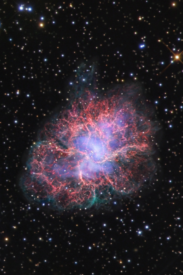 wwwhigh definition wallpapercomphotocrab nebula wallpaper23html 640x960