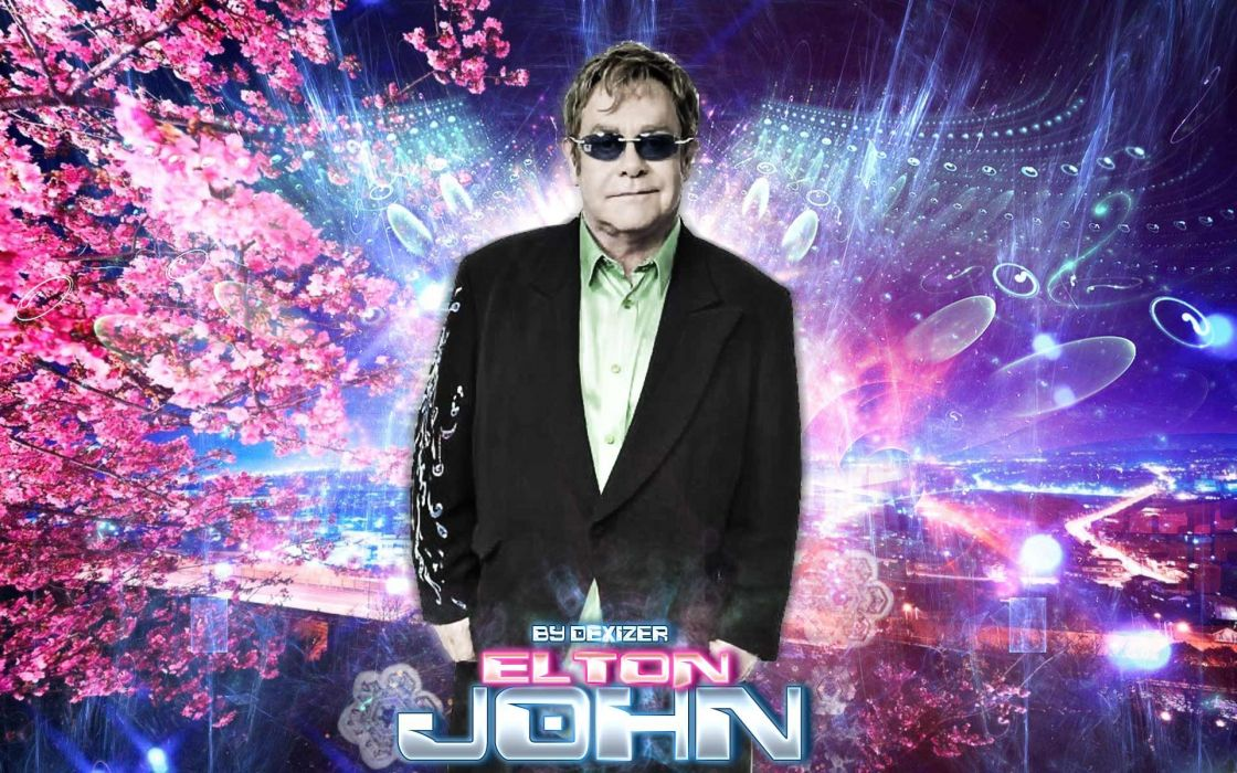 ELTON JOHN rock pop glam classic piano wallpaper 1920x1200 1120x700
