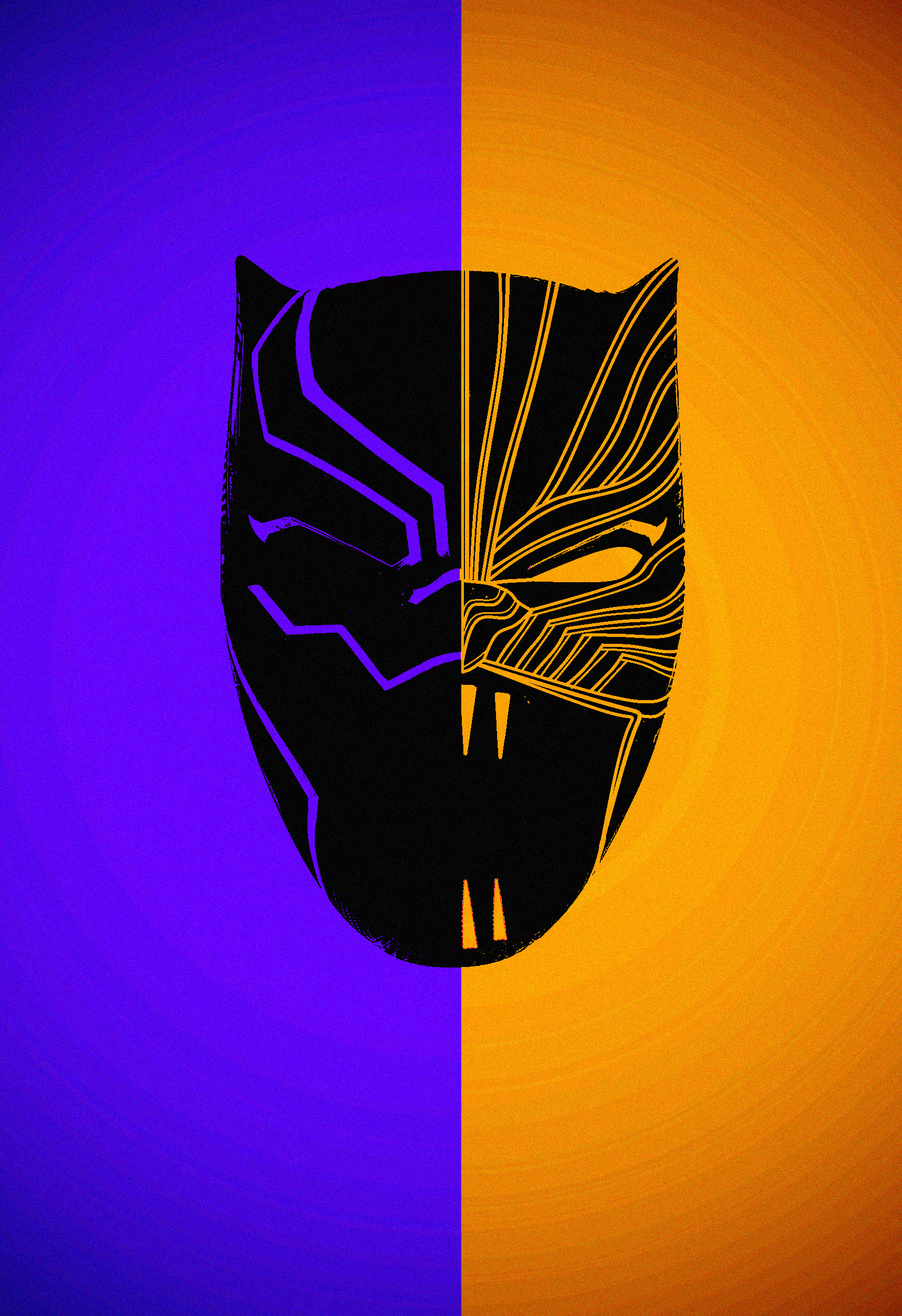 Golden Black Panther Wallpaper Download Wallpaper 1713x2500