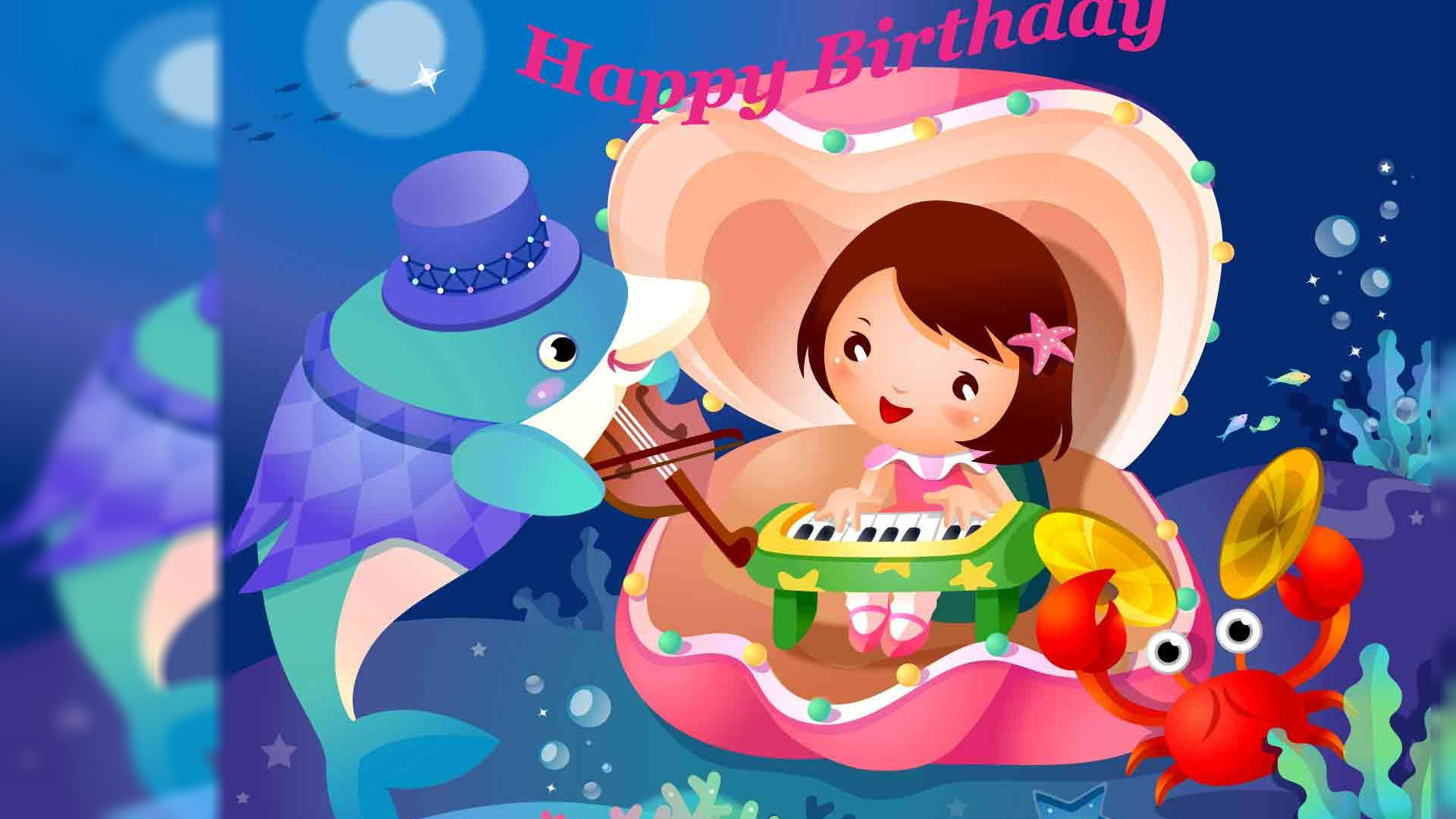 Funny happy birthday greeting wallpapers Toptenpackcom 1920x1080