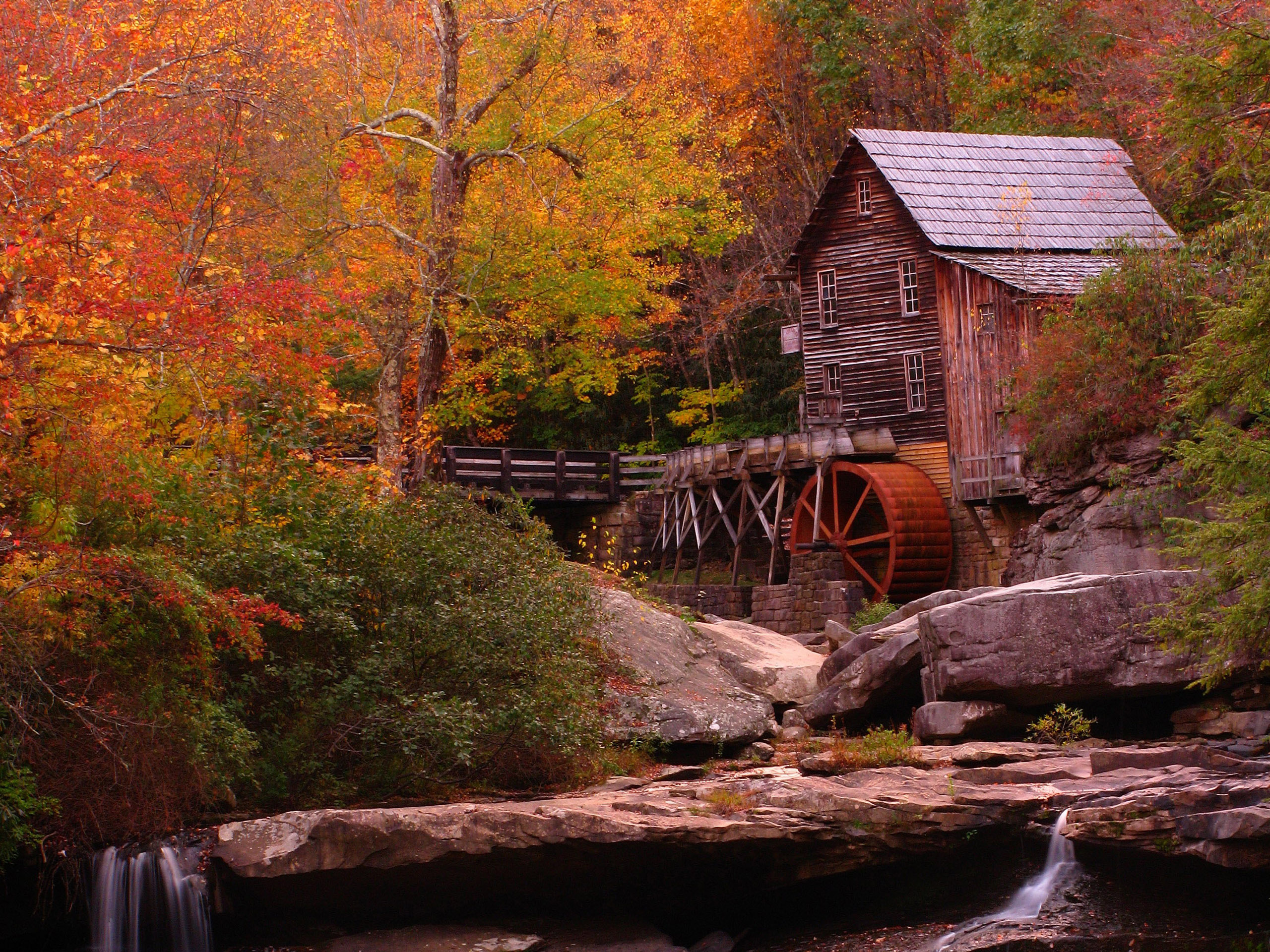 Free Download Autumn Landscapes 2 Wallpapers Colorful Fall