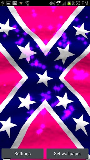 Pink Rebel Flag Live Wallpaper Is A 288x512