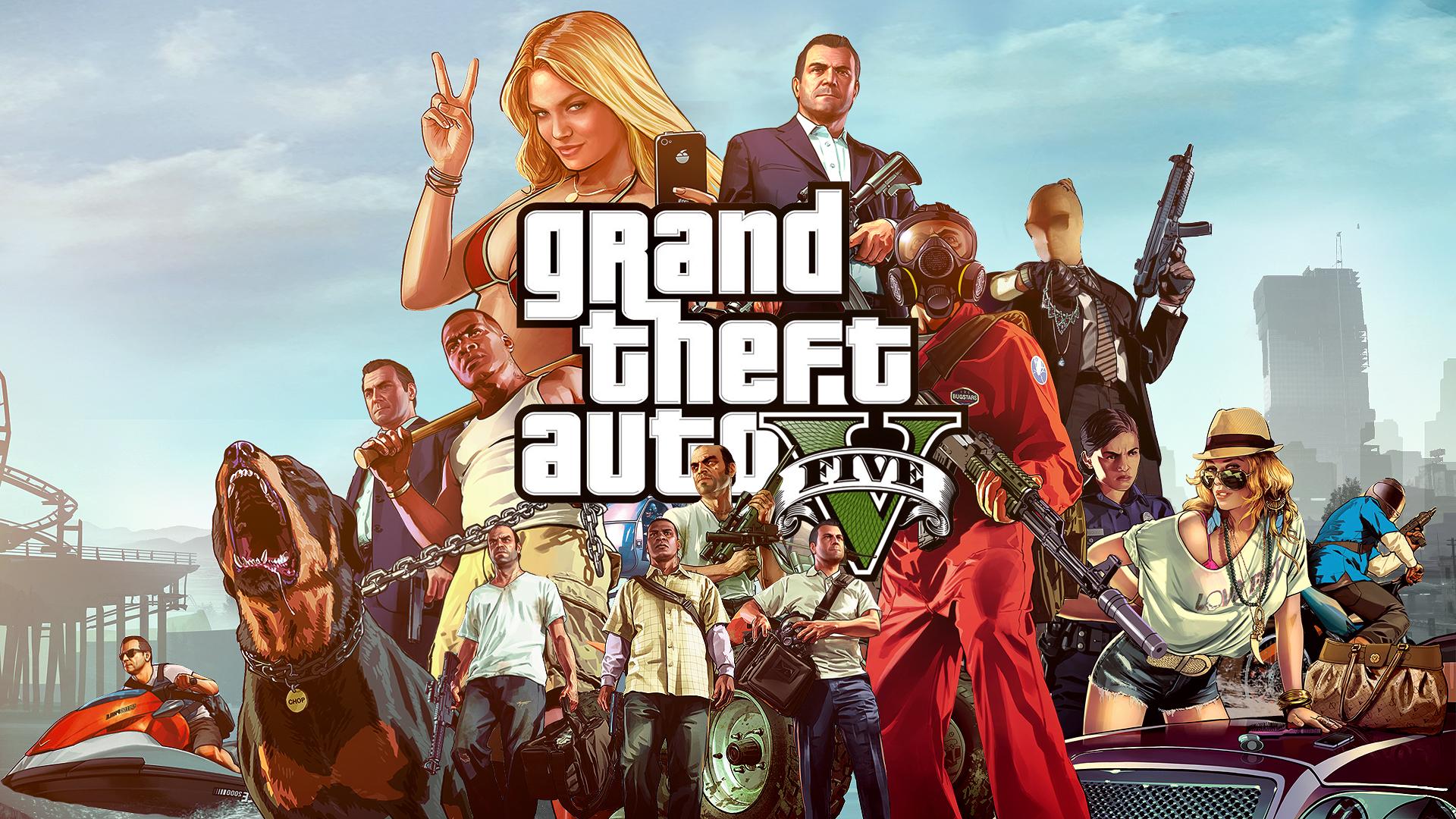wallpapers Grand Theft Auto 5 fondos gta v   grand theft auto v 1920x1080