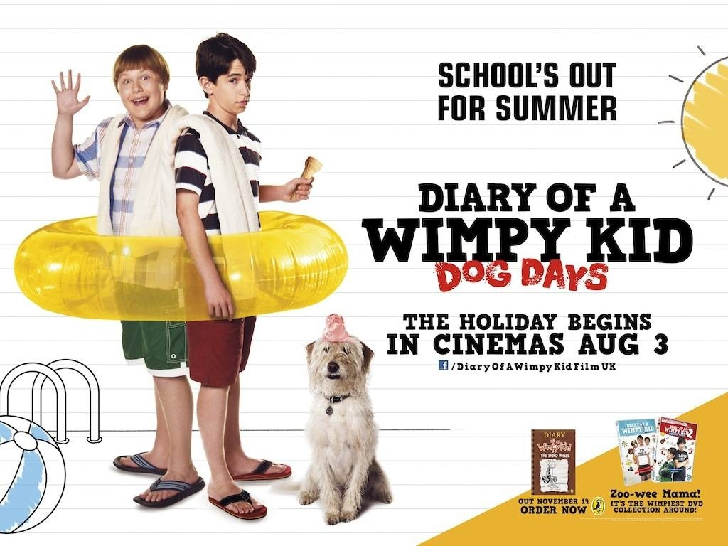 Diary Of Wimpy Kid Dog Days Movie Wallpaper Diary Of Wimpy Kid 1024x768