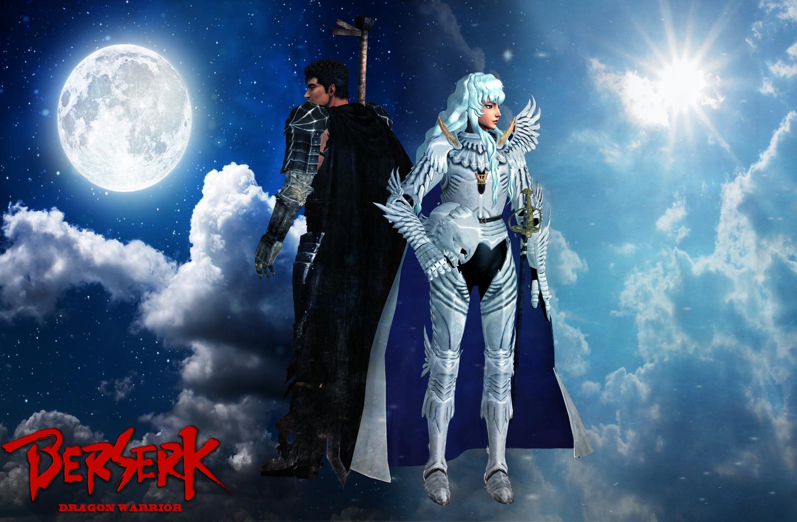 Berserk and Griffith Wallpaper by DragonWarrior H 1600x1048