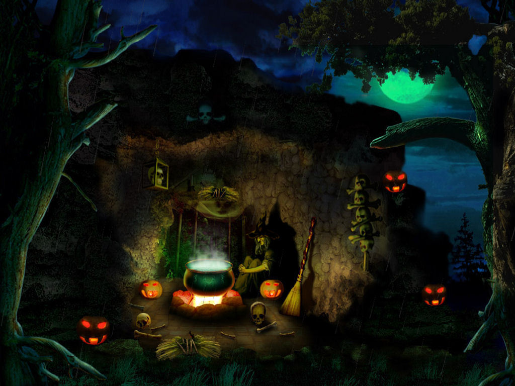 74 Halloween Witch Wallpaper On Wallpapersafari