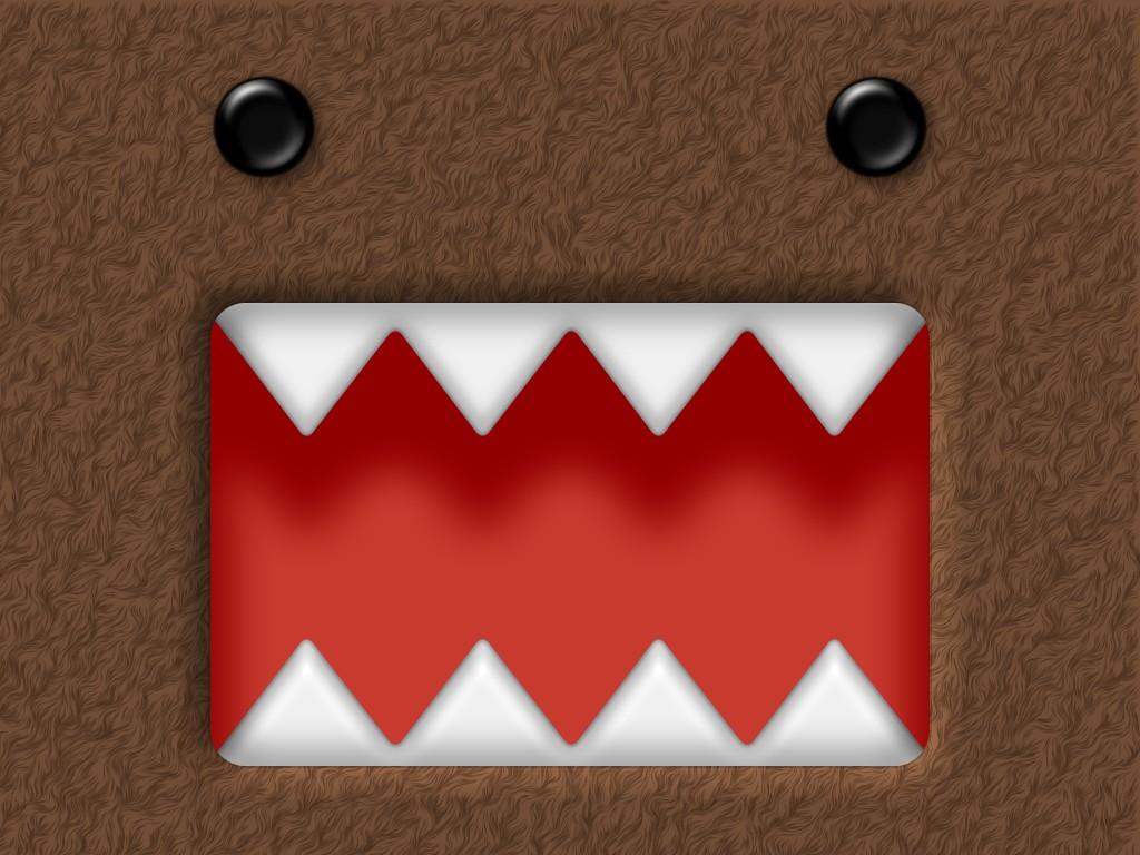 Cute Domo Desktop Wallpaper Domo kun by joewhatsit67 1024x768