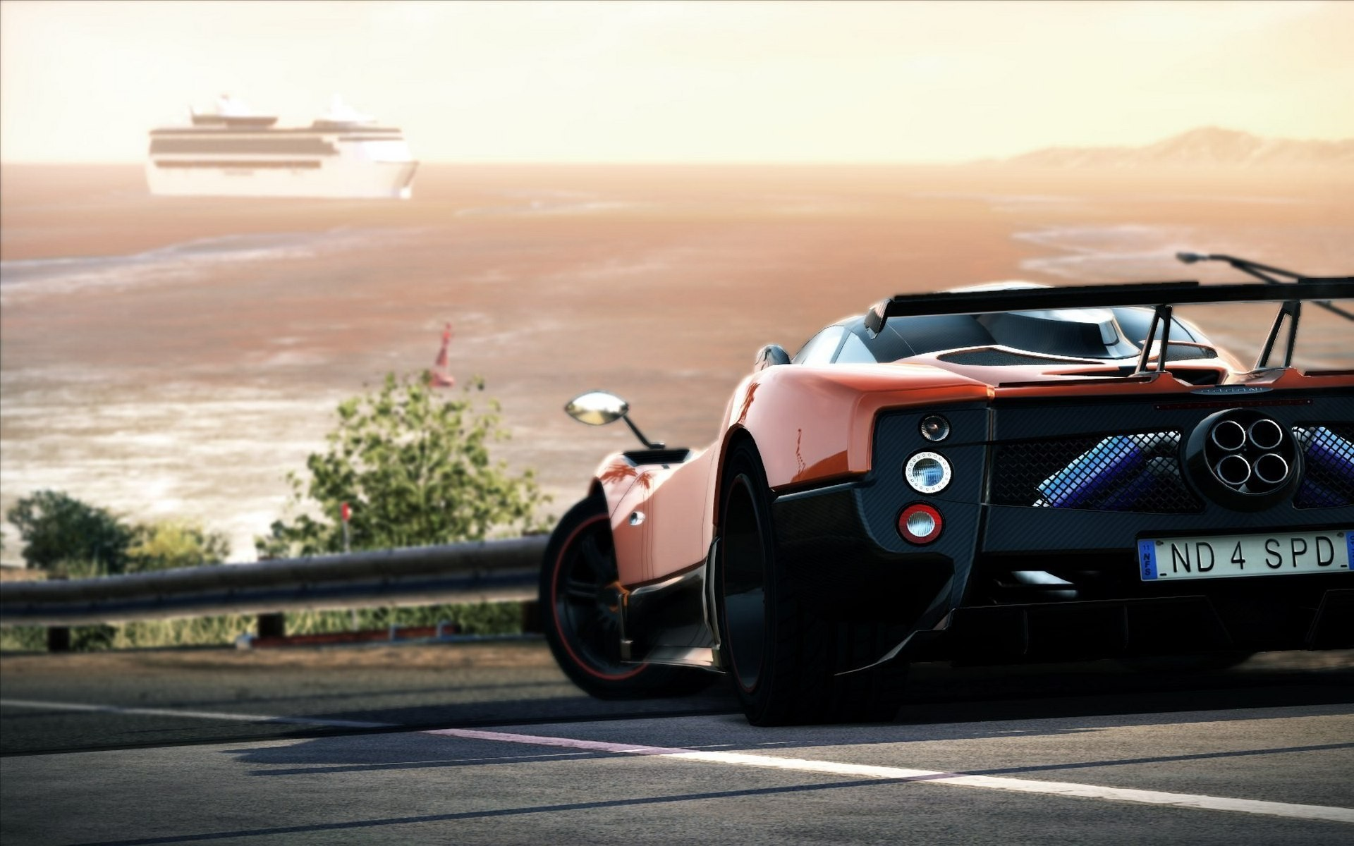 download Wallpaper Abyss Explore the Collection Pagani 1920x1200
