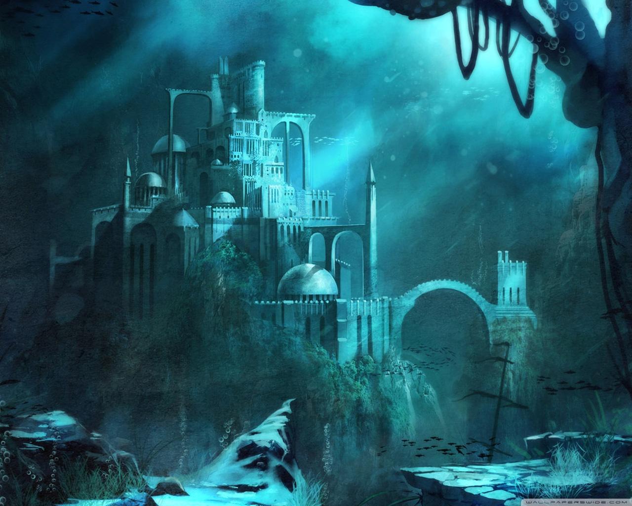 Trine 2 Underwater Castle 4K HD Desktop Wallpaper for 4K Ultra 1280x1024