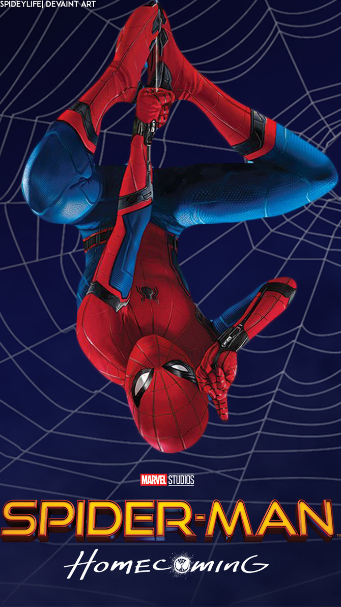 69 spiderman homecoming wallpaper on wallpapersafari - Iphone 6 spiderman wallpaper ...