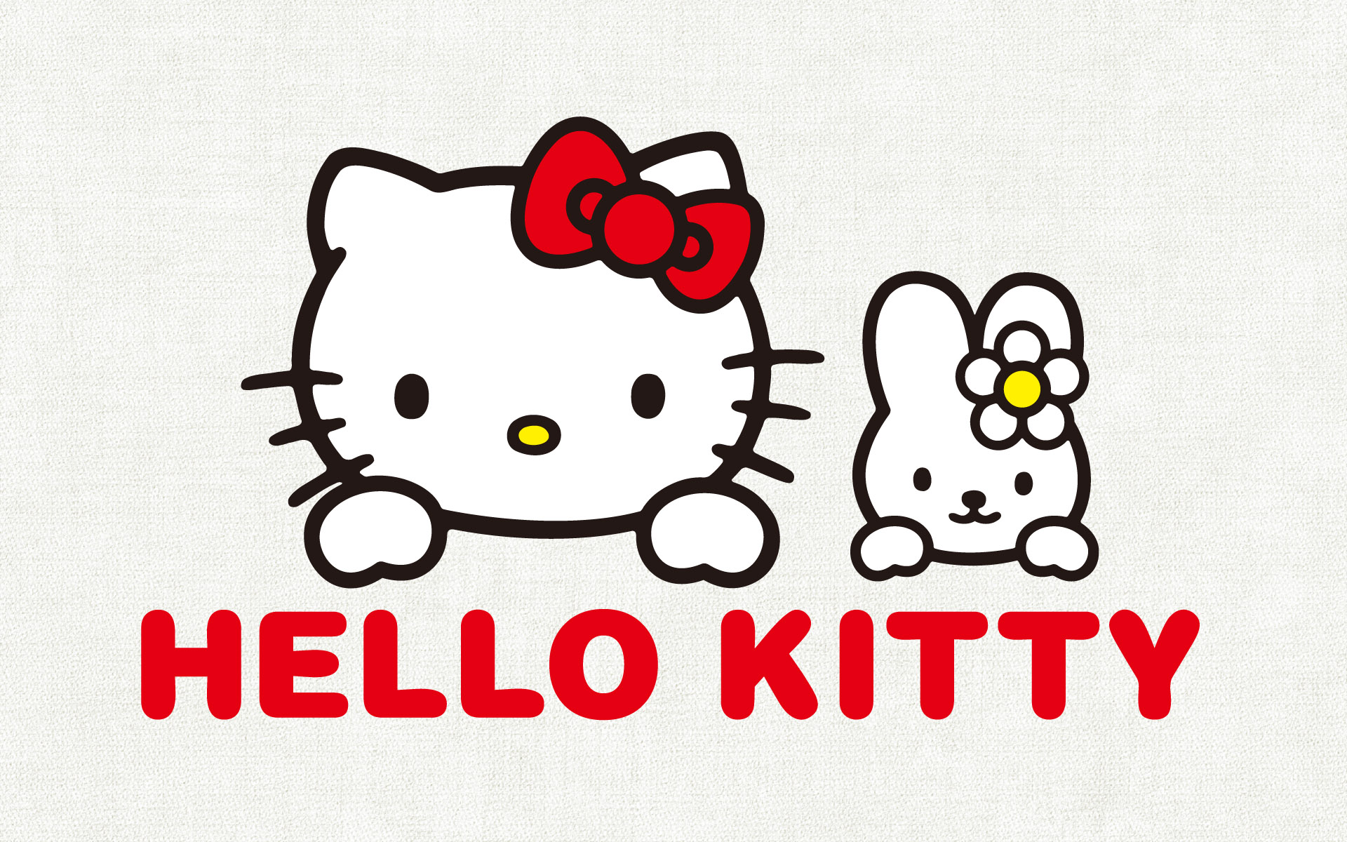 kitty hello screensaver background wallpaper images 1920x1200 1920x1200