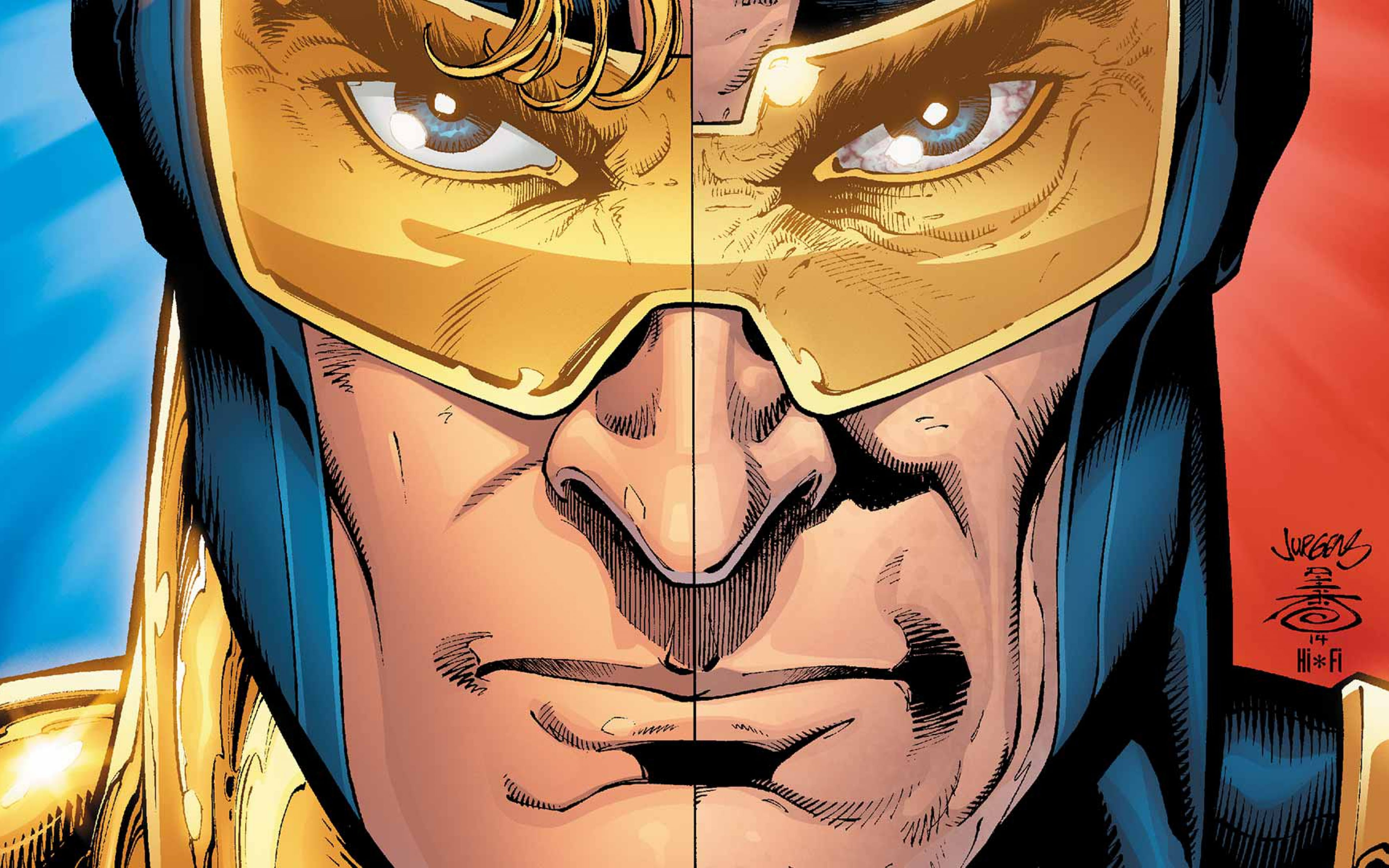 Booster Gold Dc Comics Superhero Face Glasses 1370 Wallpapers and 3840x2400