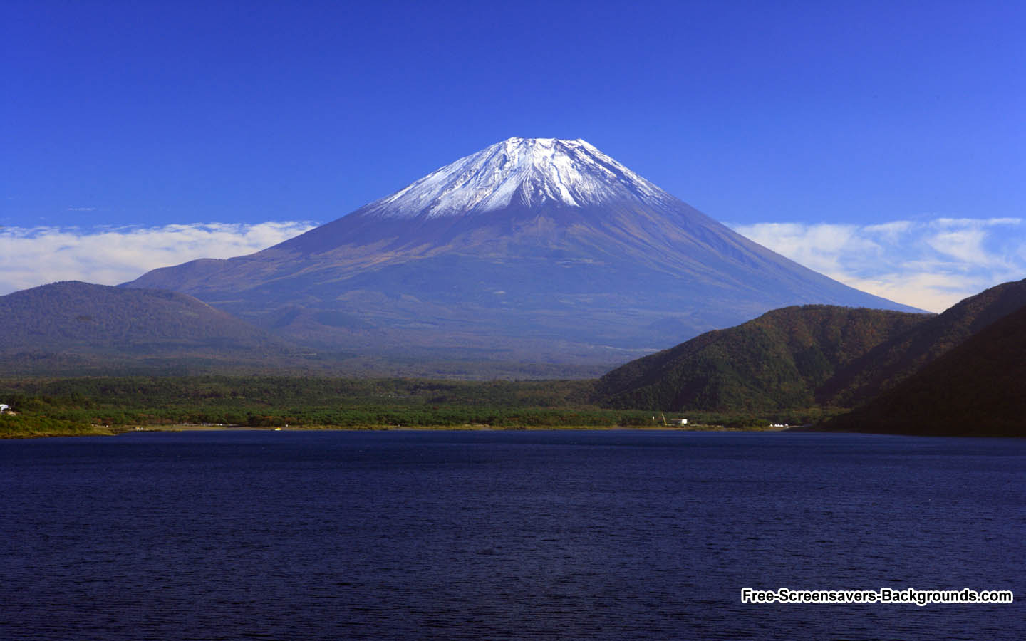 Mount Fuji Japan Wallpaper   Screensavers and Backgrounds 1440x900