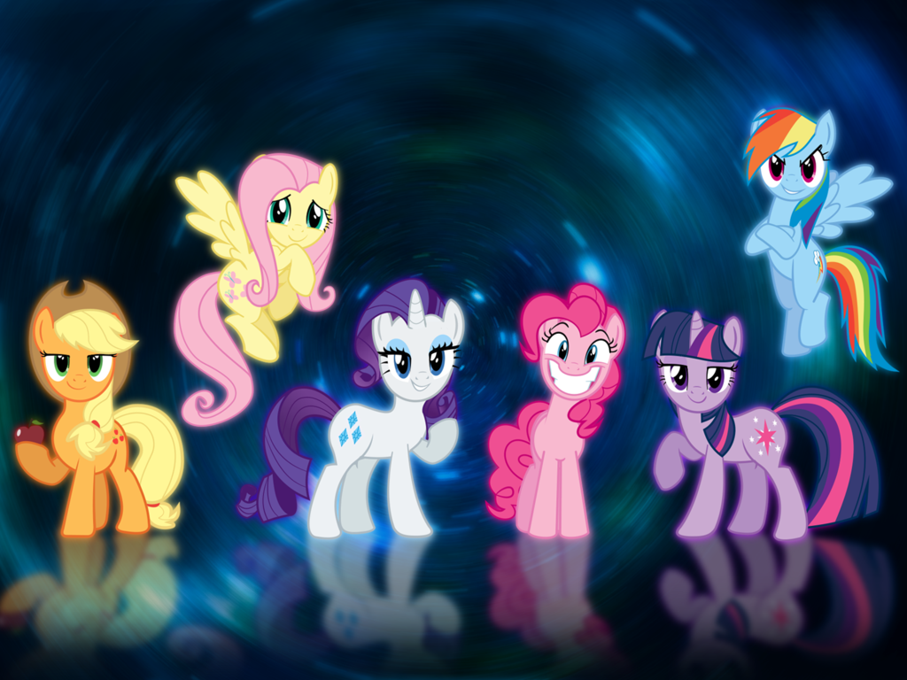 Free Download My Little Pony Mane 6 Wallpaper By Bc89 D68s0cgpng