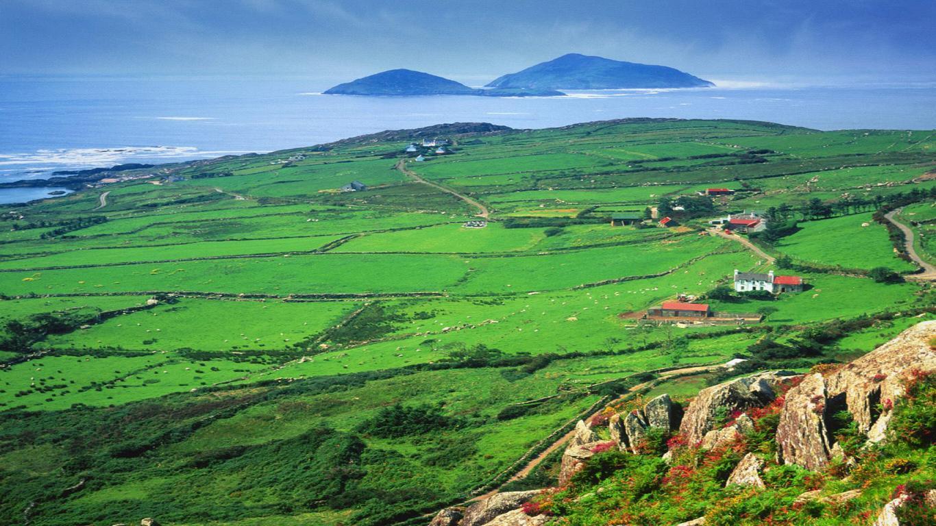 Irish Landscape Desktop Wallpapers   Top Irish Landscape 1366x768