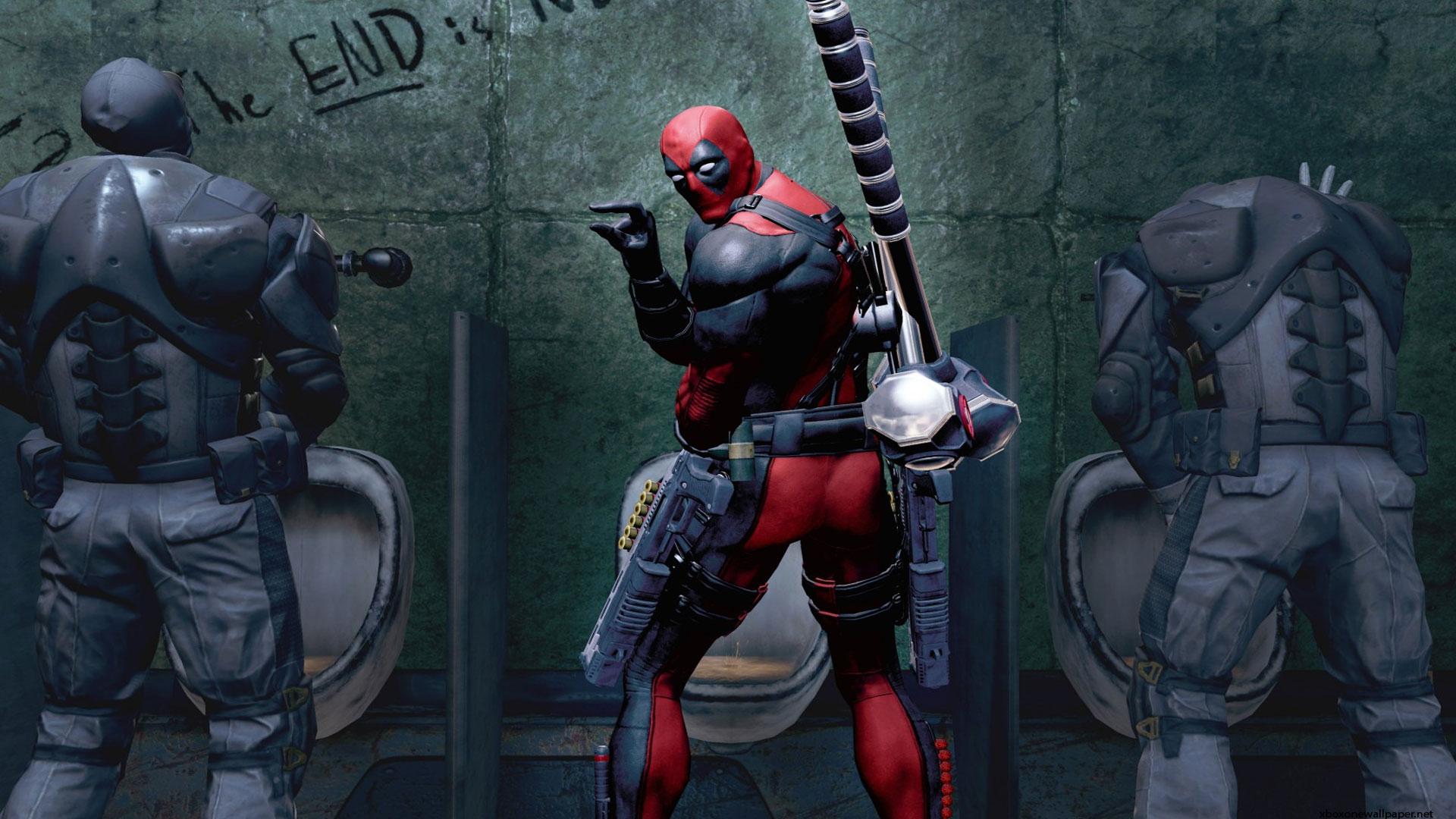 Marvel Deadpool The Game Wallpaper Photo HD 1080p 1920x1080
