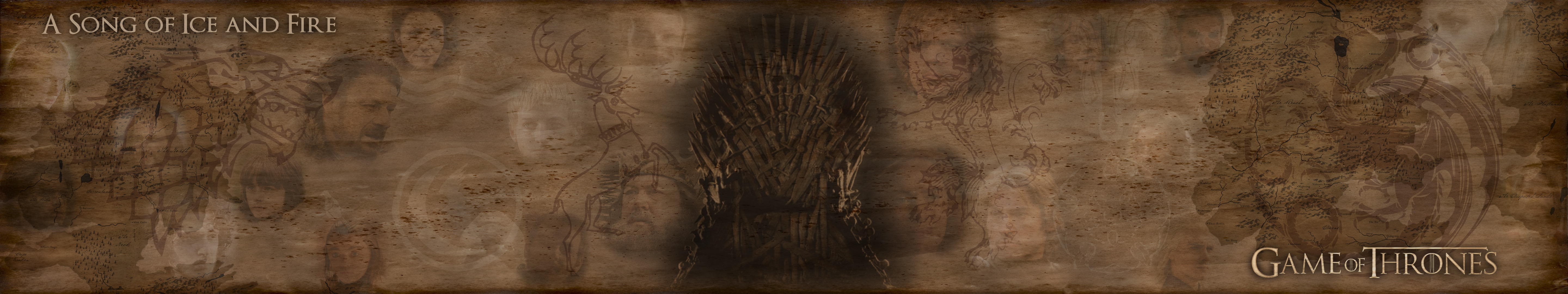 Free Download Game Of Thrones Triscreen 01 By Base113 5760x1080