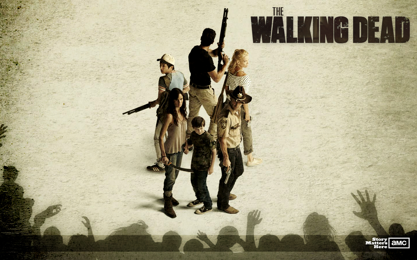 The Walking Dead is a television drama series developed by Frank 1440x900