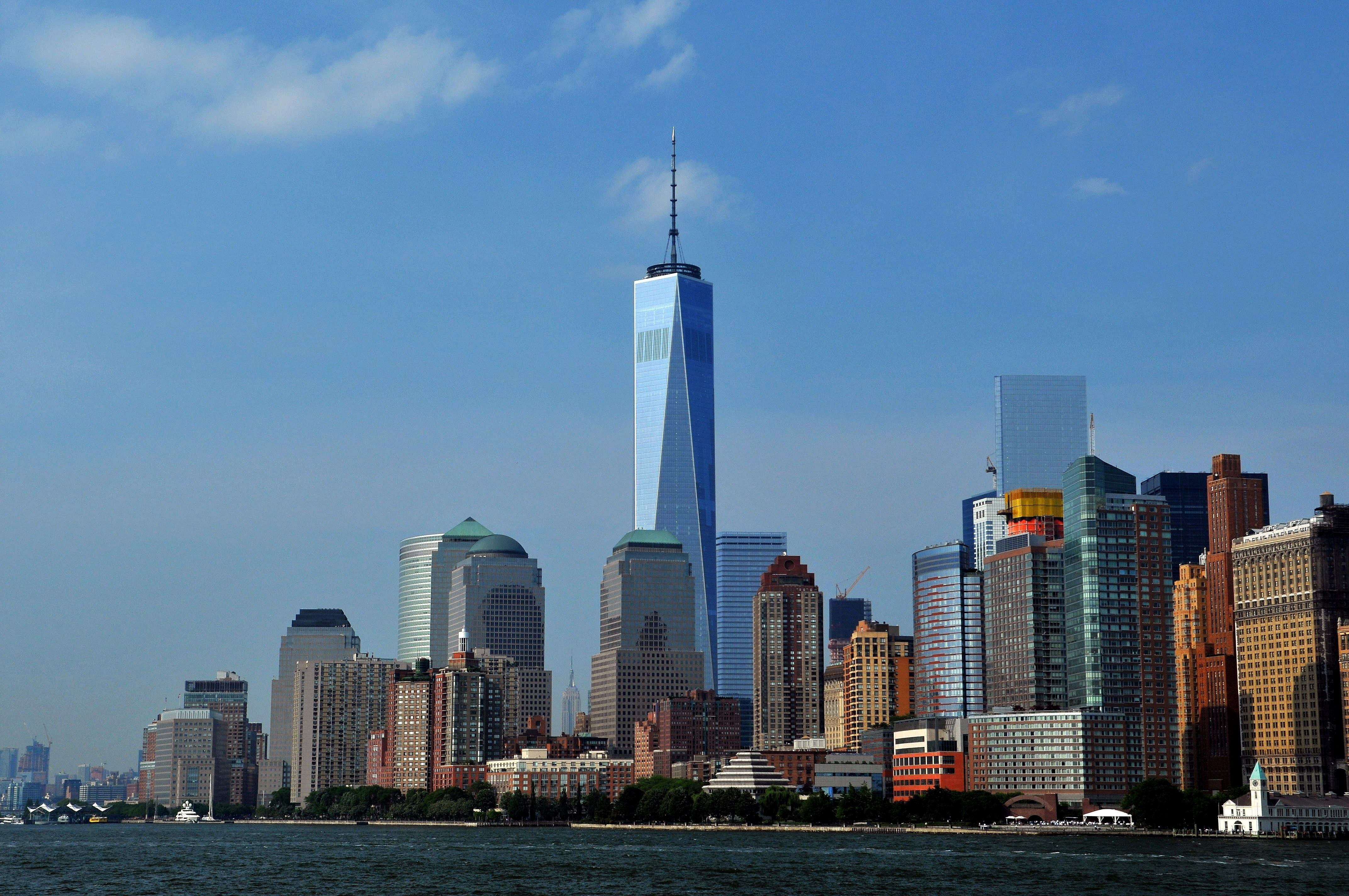 Free Download 1920x1080 Wallpaper One World Trade Center In New