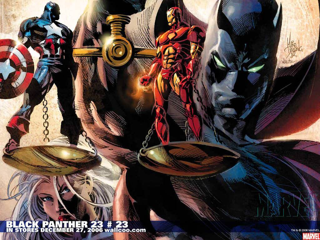 Black Panther 23 23 Marvel Comics   Marvel Wallpaper 1024x768